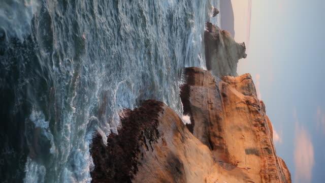 hd oregon coast vertical - oregon coast stock videos & royalty-free footage