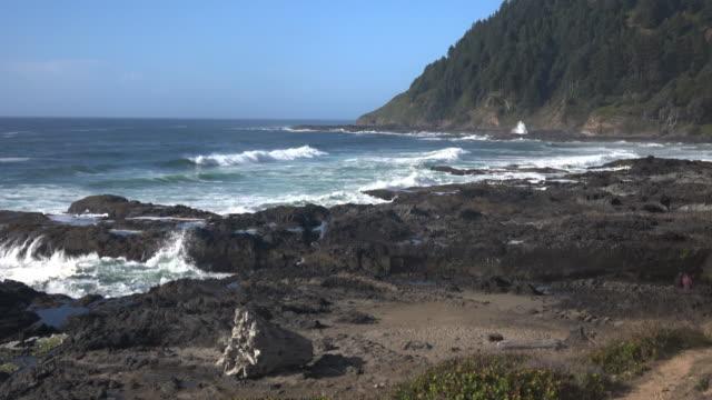 oregon coast - oregon coast stock videos & royalty-free footage