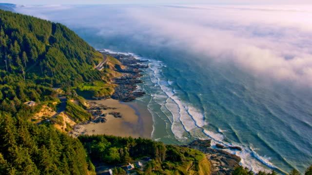 オレゴンの海岸