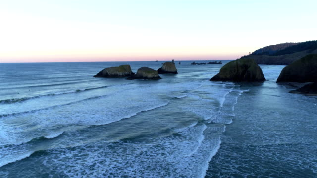 oregon coast - cannon beach stock videos & royalty-free footage
