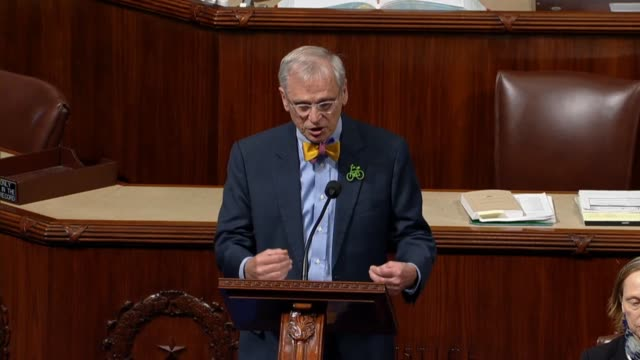 Oregon Congressman Earl Blumenauer argues against the Tax Cuts and Jobs Act saying Donald Trump would be on Capitol Hill to rally Republicans to vote...