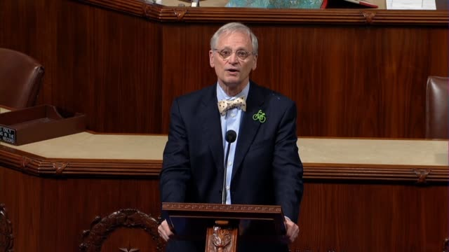 oregon congressman earl blumenauer says that the justice department was on the wrong side of history by reversing marijuana enforcement policy and... - missed chance stock videos & royalty-free footage