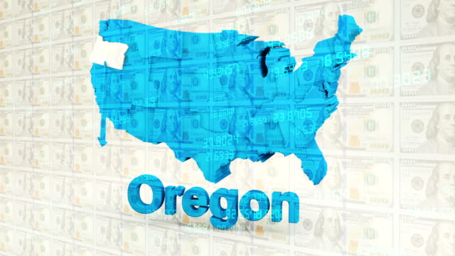 oregon from usa states - country geographic area stock videos & royalty-free footage