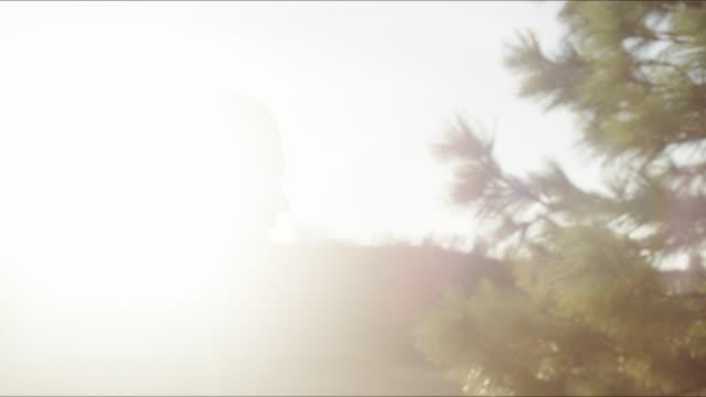oregon hiker - 横顔点の映像素材/bロール