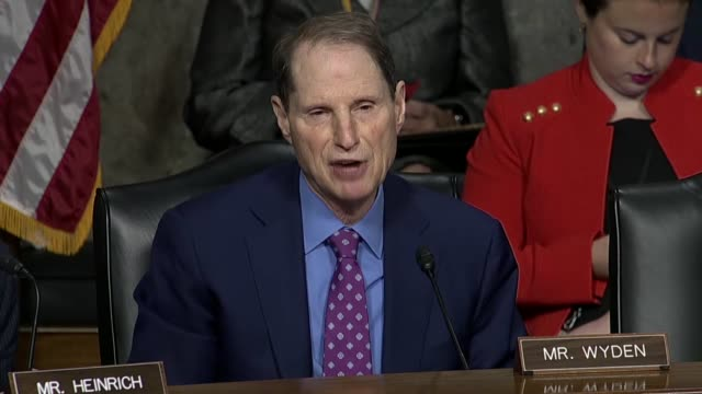 oregon senator ron wyden tells facebook chief operating officer sheryl sandberg at a senate intelligence committee hearing that an audit shows how... - game of chance stock videos & royalty-free footage