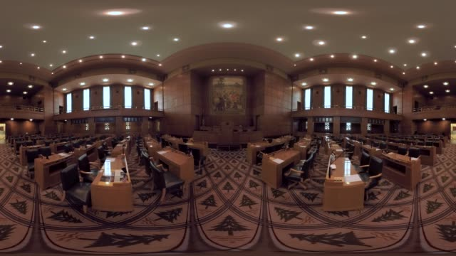 oregon state capitol house chamber - oregon us state stock videos & royalty-free footage