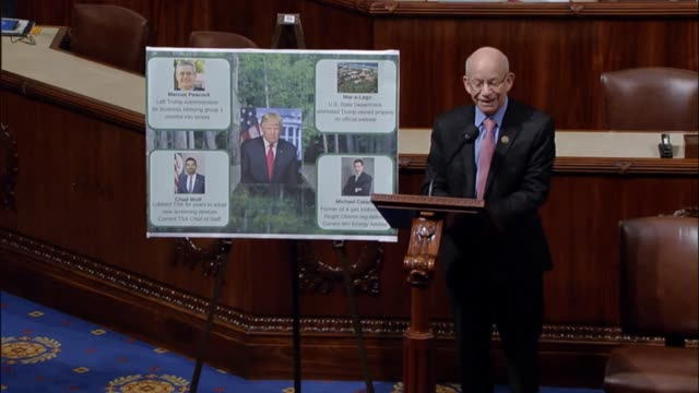 Organ Congressman Peter DeFazio discusses legislation he introduced to cement campaign promises of President Donald Trump with respect to ethics and...