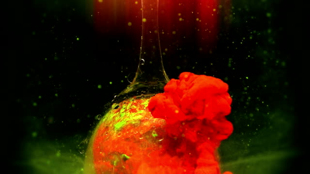 organic abstraction in slow motion