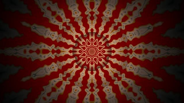 Bio-Kaleidoskop-Hintergrund