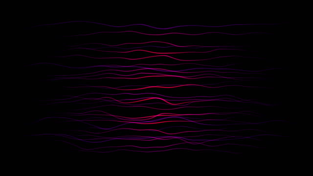 organic lines (loop) - vena video stock e b–roll