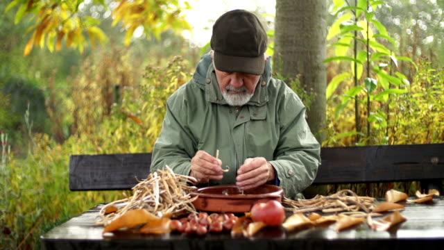 organic produce - husking stock videos & royalty-free footage