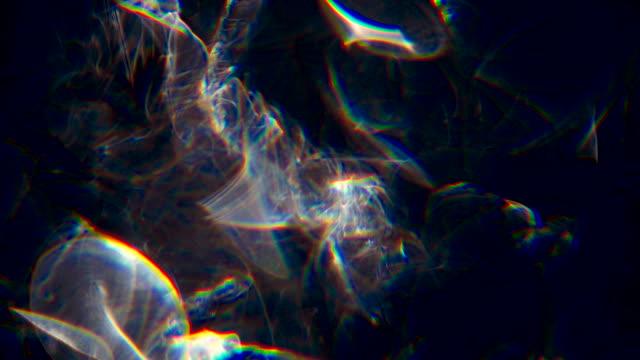 organic rainbow smoke texture - visual effect stock videos & royalty-free footage