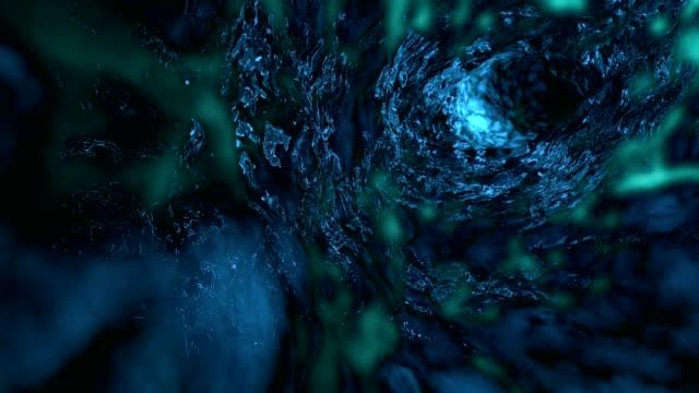 organic worm hole - hole stock videos & royalty-free footage