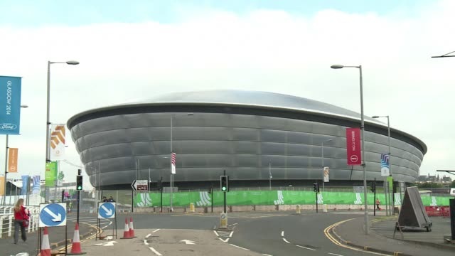 organisers of the 2014 commonwealth games have praised glasgow for hosting the biggest games ever with almost 5000 athletes from 71 nations and given... - commonwealth games stock videos & royalty-free footage