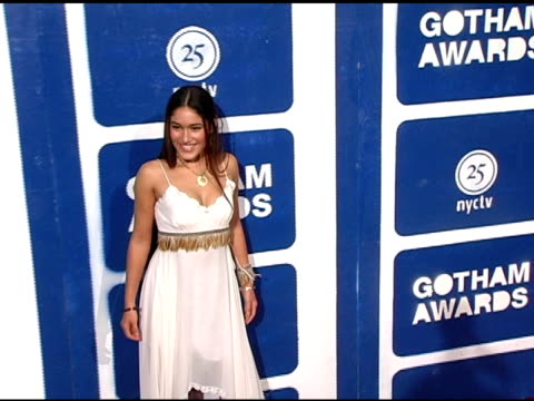 orianka kilcher and mother, sasika kilcher at the ifp's 15th annual gotham awards arrivals at pier 60 at chelsea piers in new york, new york on... - independent feature project video stock e b–roll