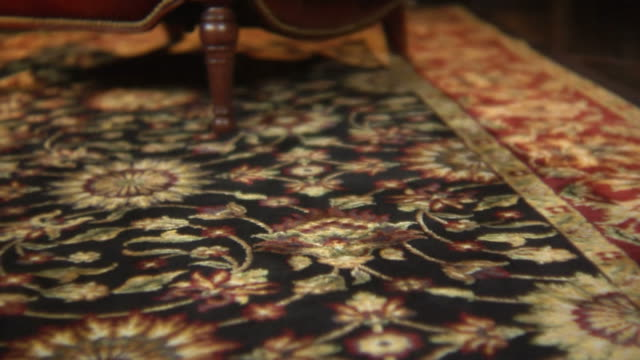 vídeos y material grabado en eventos de stock de alfombrilla orientales - alfombra