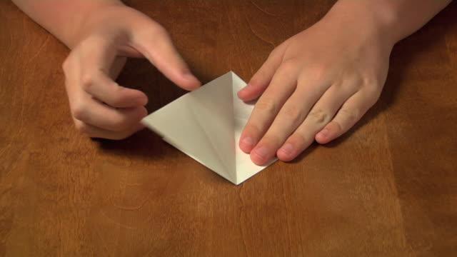 vidéos et rushes de colibri origami temps qui passe - origami