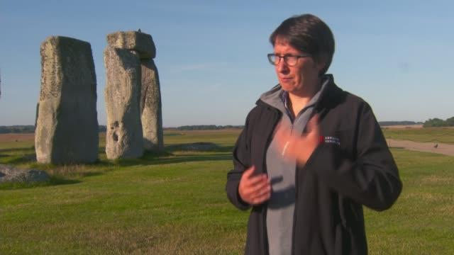 origin of stonehenge standing stones finally revealed england wiltshire stonehenge footage sarsen stones of stonehenge professor david nash interview... - obelisk stock videos & royalty-free footage