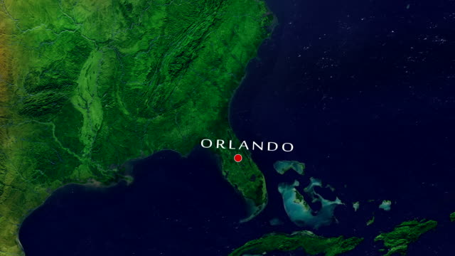 orlando 4k zoom in - florida usa stock videos and b-roll footage