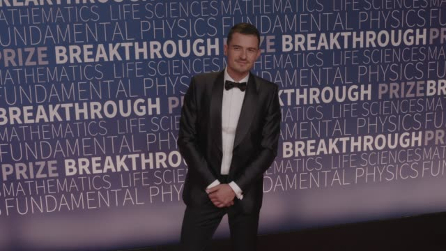orlando bloom at 2019 breakthrough prize at nasa ames research center on november 04 2018 in mountain view california - orlando bloom stock videos & royalty-free footage