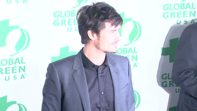 Orlando Bloom at Global Green USA's 10th Annual PreOscar Party on 2/20/13 in Los Angeles CA
