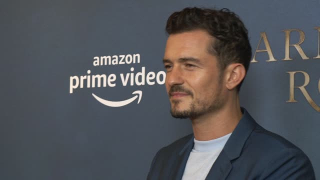 orlando bloom at ham yard hotel on august 28 2019 in london england - orlando bloom stock videos & royalty-free footage
