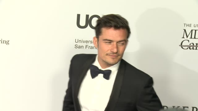 orlando bloom at sean parker and the parker foundation celebrate the launch of the parker institute for cancer immunotherapy on april 13 2016 in los... - orlando bloom stock videos & royalty-free footage