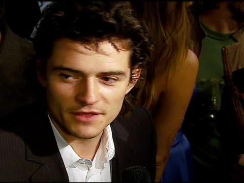 stockvideo's en b-roll-footage met orlando bloom at the 3rd annual pre-oscar party hosted by global green usa on february 21, 2007. - oscar party