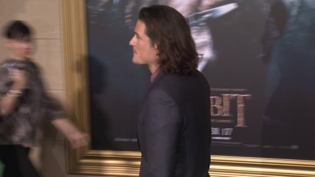 Orlando Bloom at The Hobbit The Battle of the Five Armies Los Angeles Premiere at Dolby Theatre on December 09 2014 in Hollywood California
