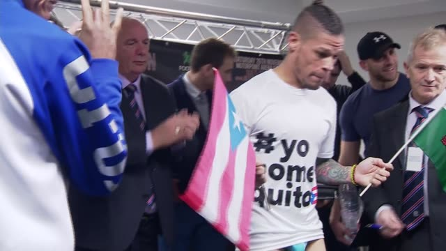 Orlando Cruz bids to become first openly gay world boxing champion WALES Cardiff INT Orlando Cruz posing with Puerto Rican flag and Welsh flag as...