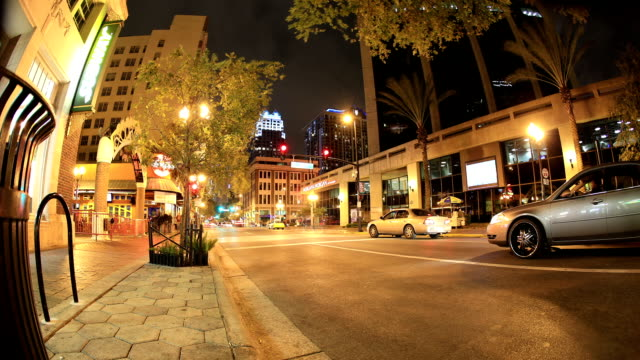 orlando, florida street scene - orlando florida stock videos & royalty-free footage