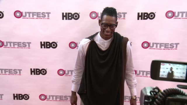 orlando jones at outfest los angeles 2017 opening night in los angeles, ca 7/6/17 - orlando jones stock videos & royalty-free footage