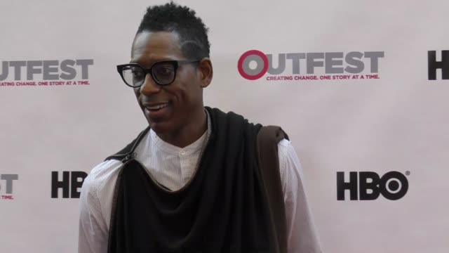 orlando jones at the 2017 outfest los angeles lgbt film festival opening night gala of god's own country at orpheum theatre on july 06, 2017 in los... - orlando jones stock videos & royalty-free footage