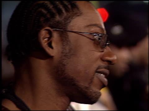 orlando jones at the 'biker boyz' premiere at grauman's chinese theatre in hollywood, california on january 28, 2003. - orlando jones stock videos & royalty-free footage
