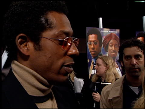 orlando jones at the 'double take' premiere at the el capitan theatre in hollywood, california on january 10, 2001. - orlando jones stock videos & royalty-free footage