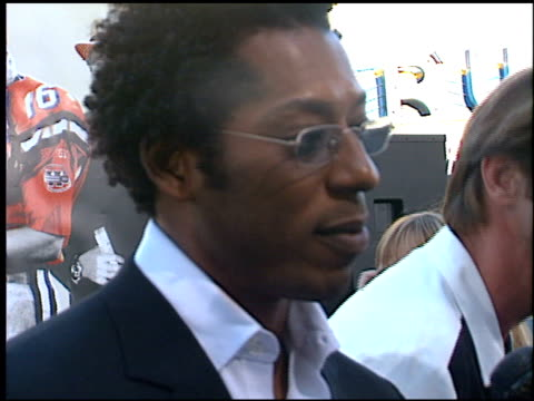 orlando jones at the premiere of 'the replacements' on august 7, 2000. - orlando jones stock videos & royalty-free footage