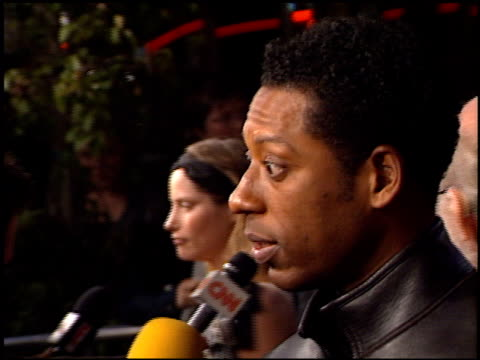 orlando jones at the premiere of 'the time machine' at the mann village theatre in westwood, california on march 4, 2002. - orlando jones stock videos & royalty-free footage