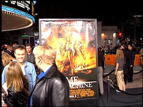 orlando jones at the premiere of 'the time machine' at the mann village theatre in westwood california on march 4 2002 - regency village theater stock-videos und b-roll-filmmaterial