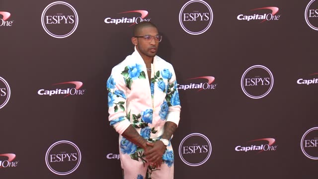 Orlando Scandrick at The 2018 ESPYS at Microsoft Theater on July 18 2018 in Los Angeles California