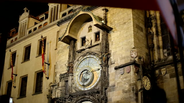 Orloj astronomical clock, Old town hall, Prague, Czech Republic