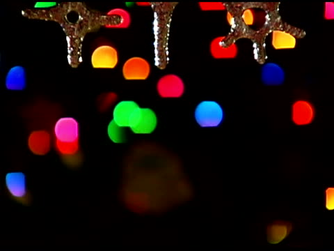 ornament on christmas tree - see other clips from this shoot 1407 stock videos and b-roll footage