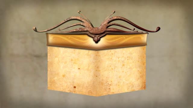 ornamental scroll - paper scroll stock videos and b-roll footage