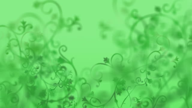 Ornate Green background