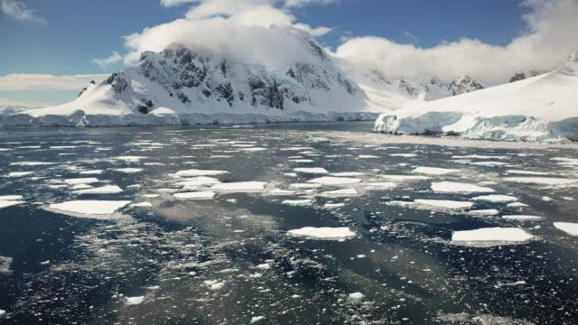 orne harbor, antarctica - antarctica drone stock videos & royalty-free footage