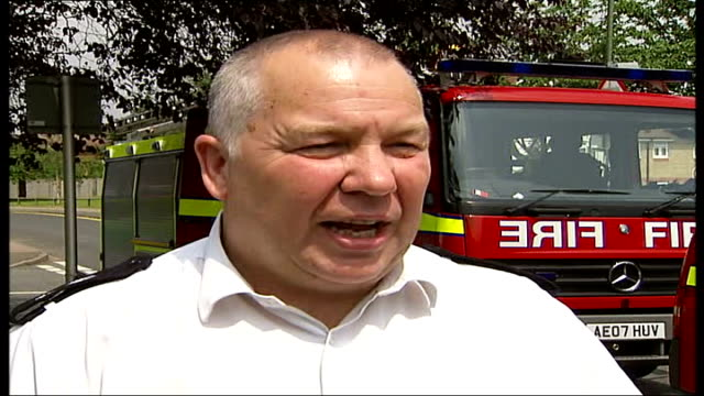 house fire; chris pointer interview sot - - itv london tonight weekend stock videos & royalty-free footage