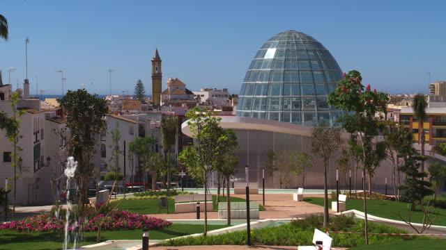 orquideario de estepona - architectural dome stock videos & royalty-free footage