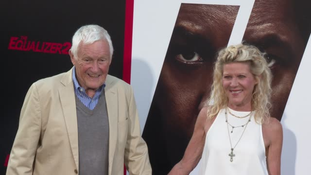 Orson Bean and Alley Mills at the 'The Equalizer 2' Premiere at TCL Chinese Theatre on July 17 2018 in Hollywood California