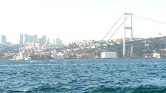 Ortakoy and Bosphorus Bridge from Kuzguncuk