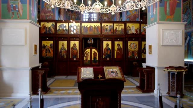 stockvideo's en b-roll-footage met orthodox church aerial - apostel