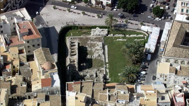 Ortygia, Syracuse  - Aerial View - Sicily, Syracuse, Siracusa, Italy